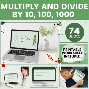 Multiply And Divide By 10, 100, 1000