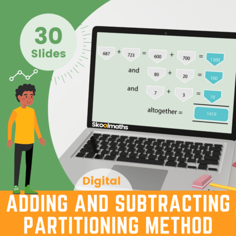 Adding And Subtracting Partitioning Method