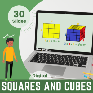 Square And Cube Numbers 1 To 30