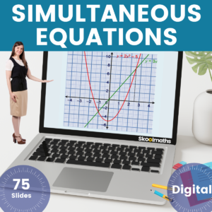 Simultaneous Equations (1)