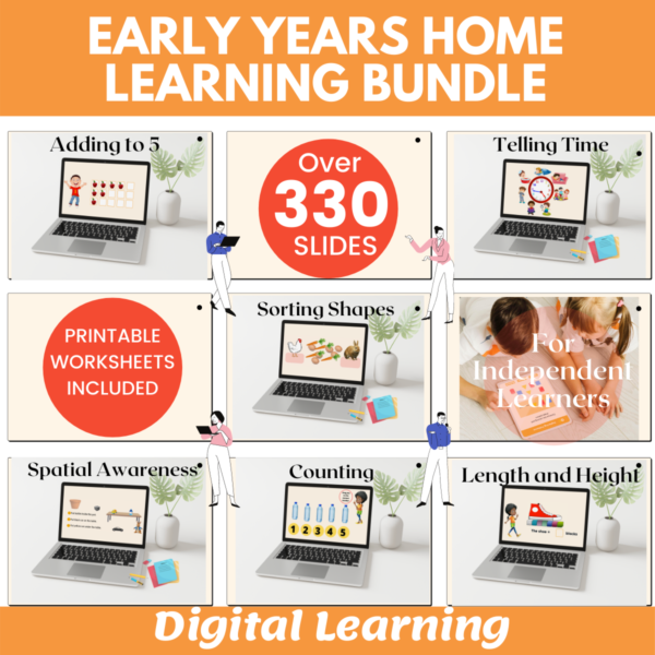 Eyfs Home learning bundle
